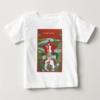 Posters da propaganda de União Soviética da guerra T-shirts