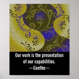 Posters Trabalho-Inspiradores da arte do escritóri