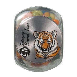 Pote de doces psto em perigo do tigre | de | Benga