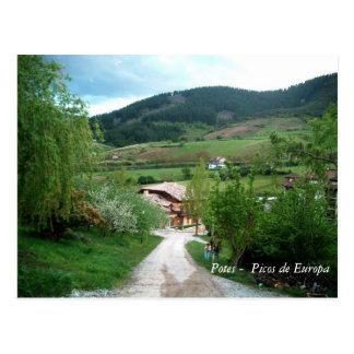 Potes - Picos de Europa Cartão Postal
