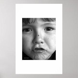 Potrait da criança poster