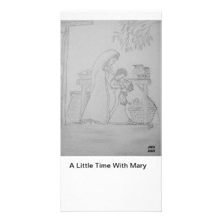 Pouca estadia com Mary Cartão Com Foto