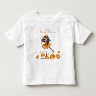 Pouca princesa da abóbora - doce como a torta tshirt