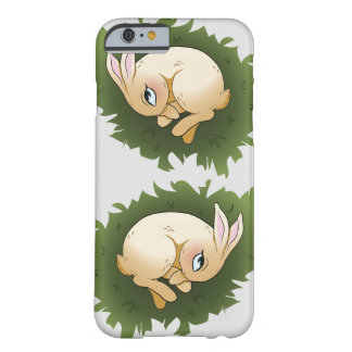 Pouco coelho capa barely there para iPhone 6