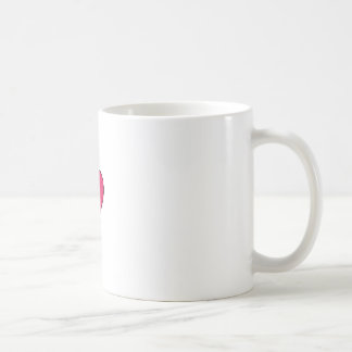 Pouco design bonito healthbar do coração do amor caneca de café