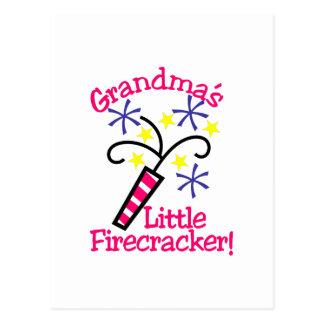 Pouco foguete da avó! cartão postal