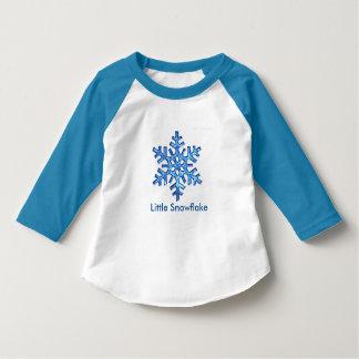 Pouco jérsei do floco de neve t-shirt