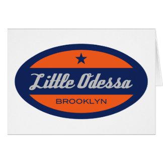 Pouco Odessa Cartão Comemorativo
