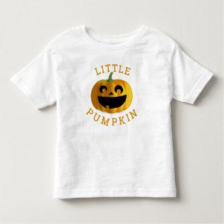 Pouco t-shirt da Jack-O-Lanterna do Dia das Bruxas