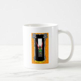 Povos feericamente caneca de café