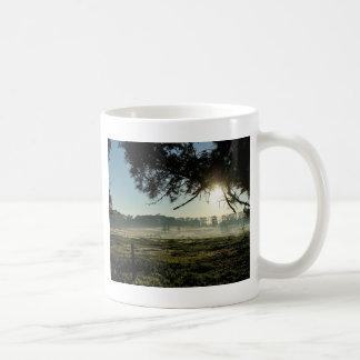 Prados da manhã caneca de café