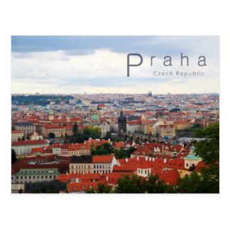 Praga 001, foto checa cartão postal