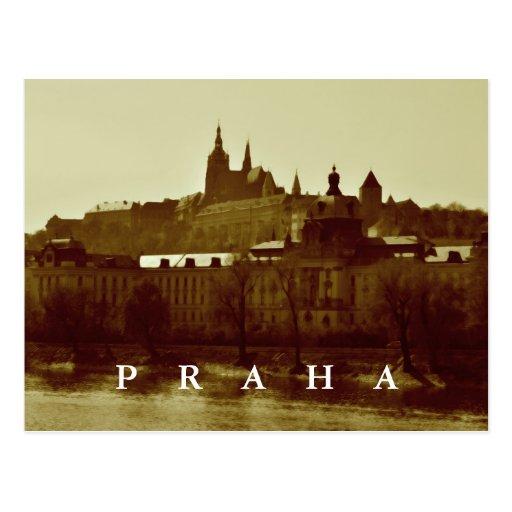 Praga, república checa cartoes postais