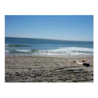praia cartão postal