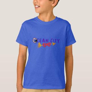 Praia da cidade do oceano t-shirts