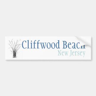 Praia de Cliffwood, New-jersey Adesivo Para Carro