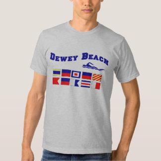 Praia de Dewey Camiseta