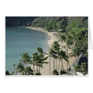 Praia de Havaí - você pode personalizar a toda a Cartão