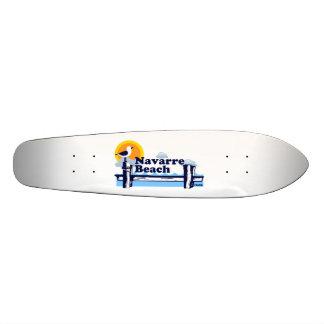 Praia de Navarra Shape De Skate 18,1cm