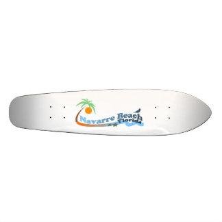 Praia de Navarra Shape De Skate 18,7cm