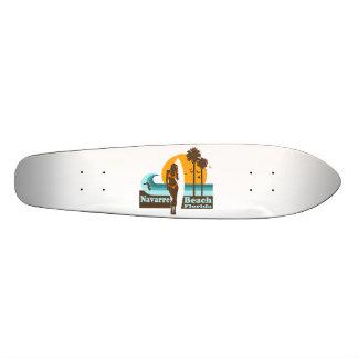 Praia de Navarra Shape De Skate 19,7cm