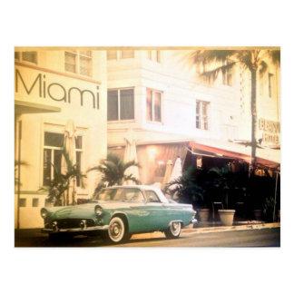 Praia do Miami-Sul Cartão Postal
