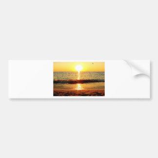 Praia do por do sol, Cape May NJ Adesivo Para Carro