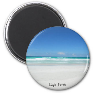 Praia ideal ímã redondo 5.08cm