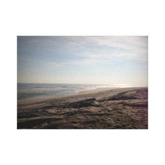 Praia Impressão Em Tela