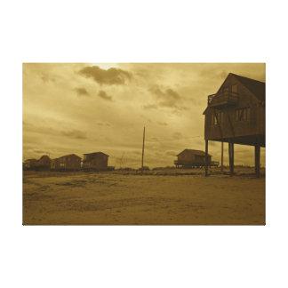 Praia original de Massachusetts da fotografia Impressão Em Tela Canvas