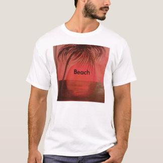 Praia para ele camiseta