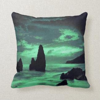 Praia, rochas almofada