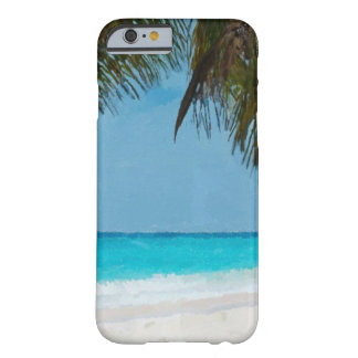 Praia tropical capa iPhone 6 barely there