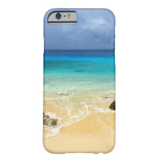 Praia tropical da ilha do paraíso capa barely there para iPhone 6