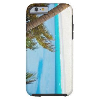 Praia tropical do paraíso capa tough para iPhone 6