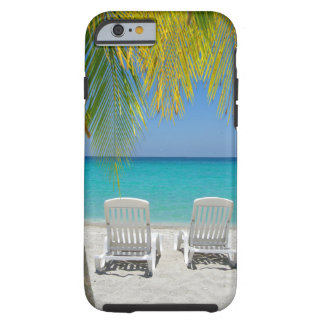 Praia tropical do paraíso no caribe capa tough para iPhone 6