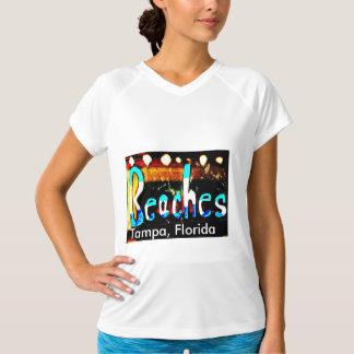 Praias Tampa, Florida Camisetas