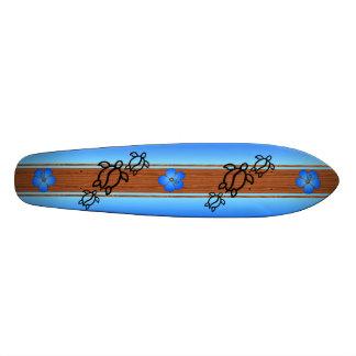 Prancha retro de Honu Skate Personalizado