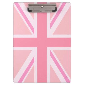 Pranchetas Bandeira de união/rosa design de Jack