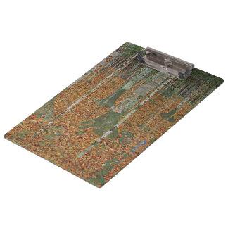 Pranchetas Floresta do vidoeiro por Gustavo Klimt, arte