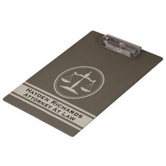 Pranchetas Justiça do advogado escala o advogado