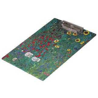 Pranchetas O girassol por Klimt, vintage de Farmergarden w