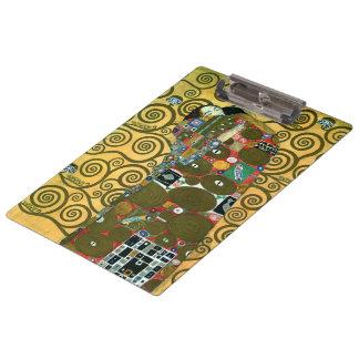 Pranchetas Realização aka o abraço por Gustavo Klimt