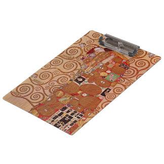 Pranchetas Realização por Gustavo Klimt, arte Nouveau do