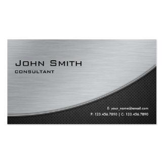 Prata moderna elegante profissional do reparo do c cartão de visita