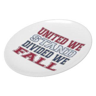 Prato A união faz a força t-shirt e presente