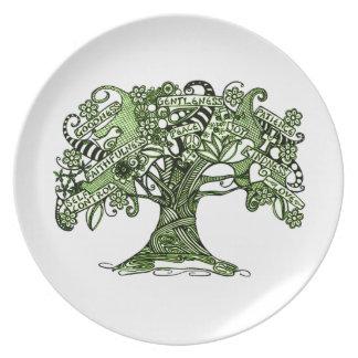 Prato Árvore da sabedoria