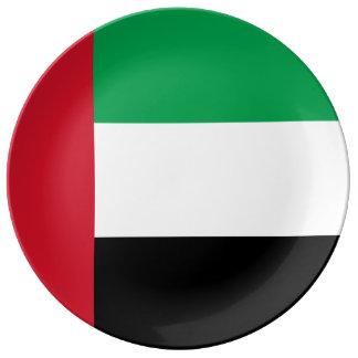 Prato Bandeira de United Arab Emirates