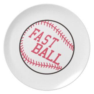 Prato Basebol rápido