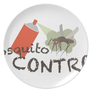 Prato Controle do mosquito